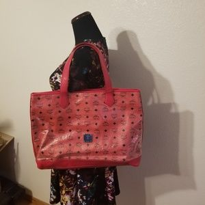 Mcmby phenomenon red shoulder bag limited edition